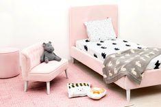 Fotoliu Lia Pastel Pink #homedecor #inspiration #homedesign #colors #pastel Pastel Pink, Toddler Bed, House Design, Inspiration, Furniture, Home Decor, Child Bed, Biblical Inspiration, Decoration Home