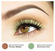 I know many of you wear neutral eyeshadows every day to work (which is totally ok), but I'm hoping to get you to branch out and wear some colors dur