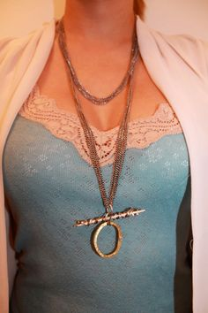 Necklace by Heather Marter.