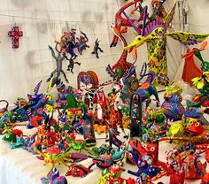 Alebrijes in Oaxaca, Mexico 2009 - Alebrije - Wikipedia, the free encyclopedia