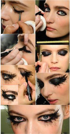 direto do Fashionismo, tutorial incrivel da Chanel