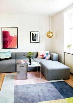 Style Atylia.com #canape #design #gris