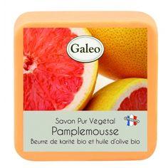 CouleurTropiques,savon Galeo parfum Pamplemousse, 100g de bonheur