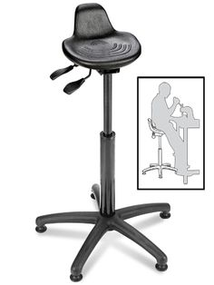 The Stanley Vidmar Sit Stand Stool I Plan To Elevate My