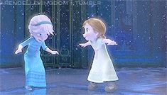 Little Anna and Elsa (aka: My sister and I) Peterson Peterson Wood Disney Magic, Disney Art, Disney Movies, Disney Pixar, Walt Disney, Frozen Heart, Elsa Frozen, Disney Frozen, Sister Day