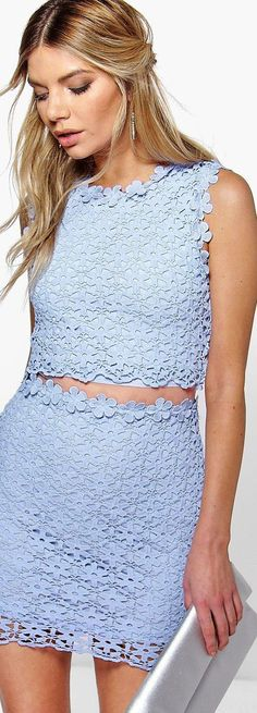 Boutique Lucy Lace Double Layer Bodycon Dress - Dresses  - Street Style, Fashion Looks And Outfit Ideas For Spring And Summer 2017