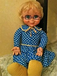 .my favorite doll as a child OMG I had forgotten all about Ms. Beasley  I think mine is still at moms somewhere in the attic lol
