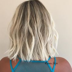 "ROMEU FELIPE on Instagram: ""#bobhair #blondehair #romeufelipe #treschic #suf #livedincolor #livedinblonde #hairartisan #newlook #summerlook @belximenes"""
