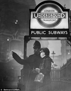 Pea souper that killed 12,000: So black you couldn't see the screen in cinemas. So suffocatingly lethal they ran out of coffins. How the Great Smog choked London 60 years ago this week | Mail Online