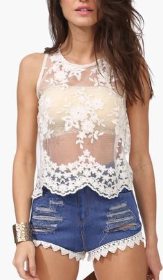 Love Lace Top