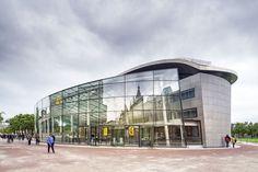 Anexo de entrada al Museo van Gogh, Amsterdam, Holanda - Anexo: Hans van heeswijk Architects; Original: Kisho Kurokawa Architect & Associates - © Ronald Tilleman