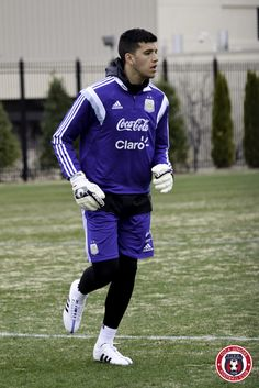 Gerónimo Rulli | Second @Argentina training session at @georgetownhoyas #TOCA #PLAYsimple #GiraPorEEUU Geronimo, Soccer, Training, Argentina, Coaching, Football, European Football, Fitness Workouts, Work Outs