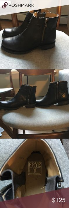 Chelsea boot style frye boots Pretty much new. Black Chelsea style boots. Size 6 1/2. Only worn a few times. Frye Shoes Ankle Boots & Booties