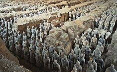 Xian is a long way to go, but worth it to see the Terracotta Warriors.  They have such an interesting history behind them - the craftmanship is unparalelled!