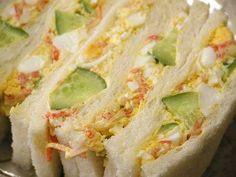 カニタマゴサンド イカフライサンド(レシピ) - MISO's Free and Easy Life Egg sandwich