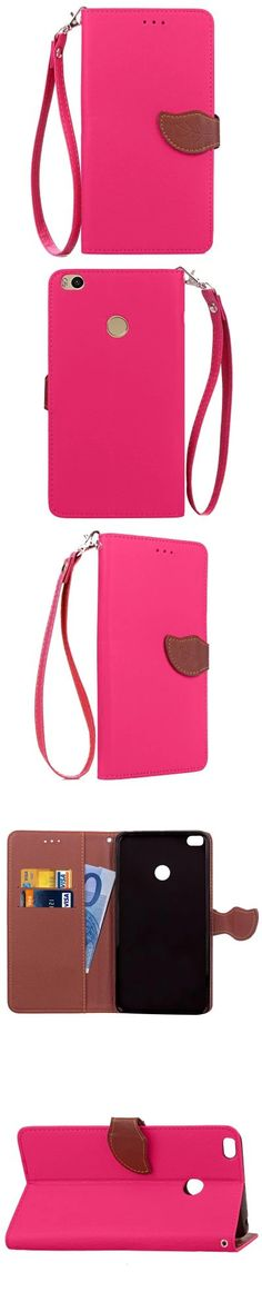 Love Leaf Card Lanyard Pu Leather for Xiaomi Max2 -$6.34