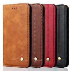 Luxury Retro PU Leather Wallet Flip Case Card Slot Cover for Xiaomi Phone Material : Top quality PU Leather + Silicone /TPU + Magnet Features: Comes with in Leather Case, Pu Leather, Leather Wallet, Samsung Cases, Samsung Galaxy, Phone Cases, Tapas, Smartphone, Note 7