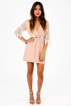 Lindsey Crochet Dress ~ TOBI