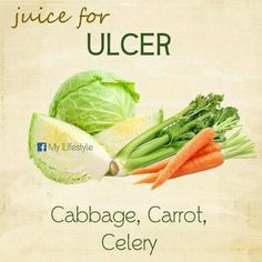 Homemade Juice Therapy: Ulcer