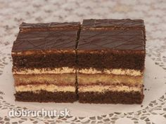 Orechové rezy - Vynikajúce orechové rezy vhodné aj na Vianoce! Czech Recipes, Ethnic Recipes, Eastern European Recipes, Sweet Desserts, Desert Recipes, Nutella, Great Recipes, Bakery, Deserts