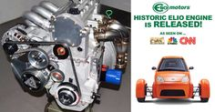 1st look at completed Elio engine.