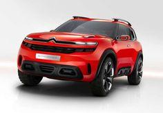 Citroen Aircross concept presented @ Shanghai Motorshow 2015