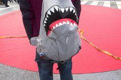 shark backpack :D