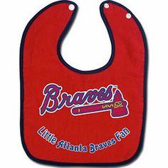Atlanta Braves Baby Bib - All Pro Little Fan