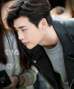Uploaded by Find images and videos about boy, grunge and model on We Heart It - the app to get lost in what you love. Suwon, Lee Jong Suk Wallpaper, Park Bogum, Lee Jung Suk, W Two Worlds, Lee Young, Kim Jisoo, Park Hyung Sik, Korean Actors