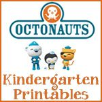 Octonauts Kindergarten Pack- we will be using some of these next week too!! So excited!