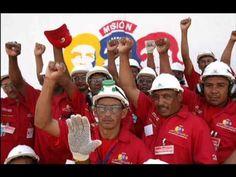 Militantes con Chavez