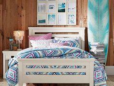 Oxford Kaleidoscope Bedroom // dreaming of waves in this bedroom