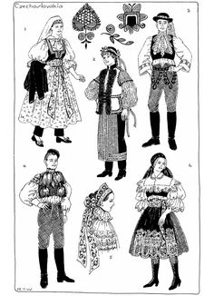 czech folk/festival Bohemian Girls, Bohemian Art, Poland Costume, Goodbye Gifts, Costumes Around The World, Folk Festival, All In The Family, Winter's Tale, Ethnic Outfits