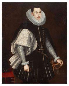 ab. 1619 Rodrigo de Villandrando - Portrait of a nobleman with a cape