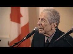 Leonard Cohen - Last Interview Ever - 2016 [VIDEO] - YouTube