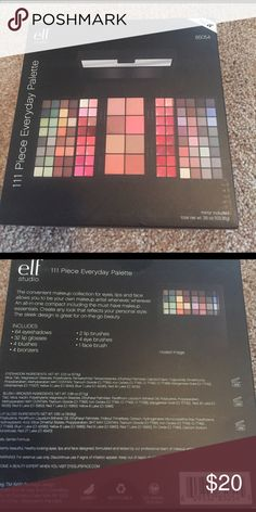 E.l.f. 111 piece everyday palette Brand new never opened! Comes with 64 eyeshadows, 32 lip glosses, 4 blushes, 4 bronzers, 2 lip brushes, 4 eye brushes, and 1 face brush. PINK Victoria's Secret Makeup