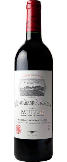Château Grand-Puy Lacoste 2013 - Pauillac -16.5/20 : Robe assez sombre. Nez intense, joliment dessiné. La bouche est équilibrée, de bonne longueur, joli milieu de bouche, En savoir plus : http://avis-vin.lefigaro.fr/vins-champagne/bordeaux/medoc/pauillac/d20581-chateau-grand-puy-lacoste/v20752-chateau-grand-puy-lacoste/vin-rouge/2013#ixzz3OJZv1wN6