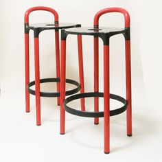 Pair of bar Stools 4823 Anna Castelli Ferrieri Kartell
