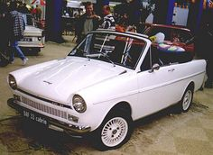 DAF 33 cabrio,not a production car