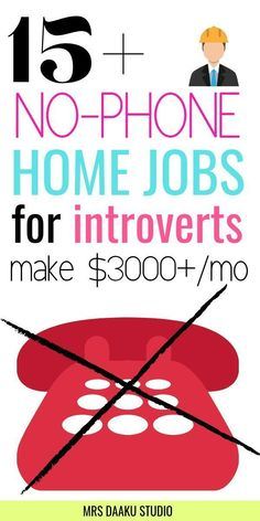 Looking for non phone work at home jobs to make money online from home? Here is a list of remote jobs that is best suited for students, stay at home moms, work at home moms, dads and everyone else wanting to earn money from home or online. GRAB THE LI Work From Home Careers, Legitimate Work From Home, Work From Home Opportunities, Work From Home Moms, Business Opportunities, Best Careers For Moms, Work From Home India, Work At Home Jobs, Online Work From Home