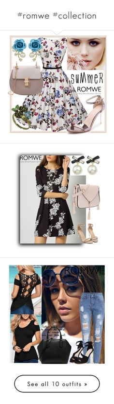 """""""#romwe #collection"""" by fatimka-becirovic ❤ liked on Polyvore featuring Christian Dior, Jennifer Meyer Jewelry, Emily & Ashley and Katie"""
