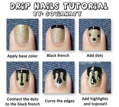 How To Do Nail Art Step By Step With Pictures | Easy Tutorials