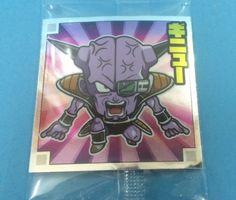 Dragon Ball super warrior seal wafer 2 Ginyu Anime Japan Manga Akihabara F/S