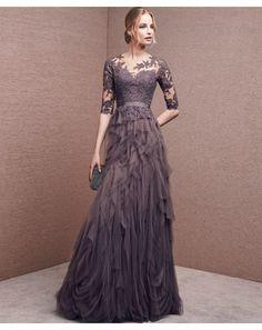Vestidos de fiesta largos con los realzar toda la belleza que hay en ti - GalaNovias