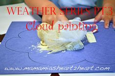 Mama Mia's Heart2Heart: Weather Series Pt. 3: Cloud Painting