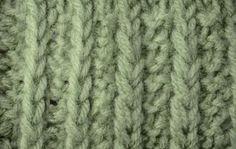My Tunisian Crochet: Tunisian Straight Knit Cables