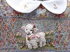 Hand Smocked Hand Embroidered Girls Dress