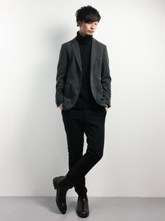 ZOZOTOWNRENさんのを使ったコーディネート - ZOZOTOWN Aesthetic Fashion, Timeless Fashion, Aesthetic Clothes, Concert Wear, Gents Fashion, Mens Style Guide, Office Fashion, Asian Fashion, Pretty Boys