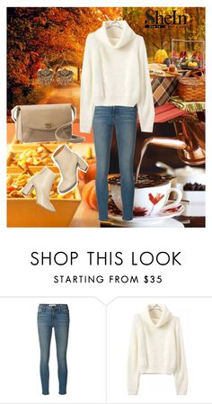 """""""She 12"""" by sarahguo ❤ liked on Polyvore featuring Frame Denim, STELLA McCARTNEY and UGG Australia"""