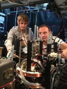The physicist with ALS who experieced zero gravity today?